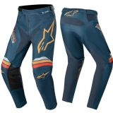 2020 Alpinestars Racer BRAAP Navy Orange Motocross Pants